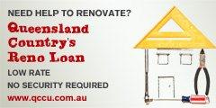 Queensland Country's Reno Loan