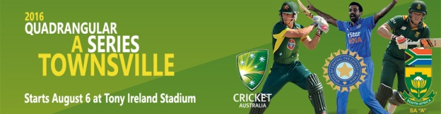 2016 Quad Series in Townsville, starting August 6